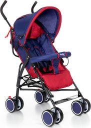 Wózek MOOLINO spacerówka Compact C granatowo-czerwony