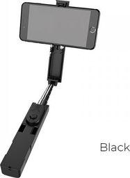 Selfie stick Borofone Borofone - selfie stick 76 cm z pilotem bezprzewodowym, czarny