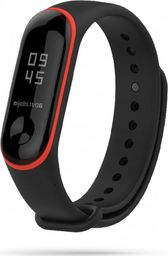 Tech-Protect TECH-PROTECT SMOOTH XIAOMI MI BAND 3/4 BLACK/RED