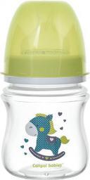 Canpol Butelka szeroka antykolkowa Toys zielona 0m+ 120ml