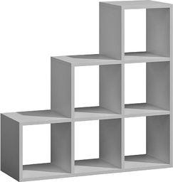 Elior Regał schodkowy Maleo 8X - biały