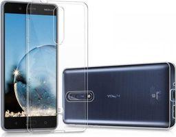Crong Crong Crystal Slim Cover - Etui Nokia 8 (przezroczysty)