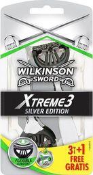 Wilkinson  MASZYNKI JEDNOCZĘŚCIOWE XTREME3 SILVER EDITION /3+1 szt.