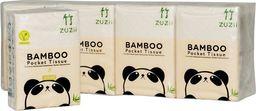 ZUZii Kieszonkowe chusteczki higieniczne z bambusa 4-warstwowe 8-pak uniwersalny