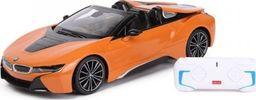 LEANToys Auto R/C BMW i8 Roadster Rastar 1:14 Pomarańczowy