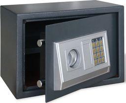 vidaXL Elektroniczny sejf cyfrowy z półką 35 x 25 x 25 cm