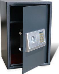 vidaXL Elektroniczny sejf cyfrowy z półką 35 x 31 x 50 cm