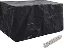 vidaXL Pokrowiec na meble ogrodowe, 8 oczek, 180 x 70 x 90 cm
