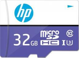 Karta PNY Technologies MicroSDHC HP 32GB UHS-I U3 (HFUD032-1U3PA)