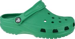 Crocs Klapki dziecięce Crocband Clog zielone r. 23/24 (204536-3TJ)