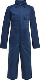 vidaXL Dziecięcy kombinezon roboczy, rozmiar 146/152, niebieski