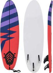 vidaXL Deska surfingowa Stripe, 170 cm