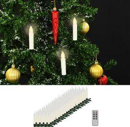 Lampki choinkowe vidaXL LED białe  (50990)