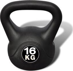 Kettlebell vidaXL bitumiczny 16 kg