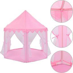 vidaXL Namiot do zabawy, dla księżniczki, różowy