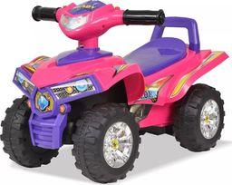 vidaXL Quad dla dzieci, ze światłem i dźwiękiem, różowo-fioletowy