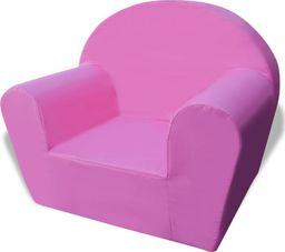 vidaXL Fotelik dziecięcy różowy