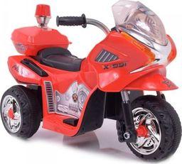 Super-Toys MOTOR, MOTOREK POLICYJNY Z KOGUTEM/WXE368