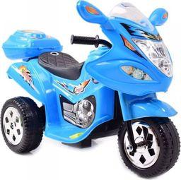 Super-Toys Motorek dla maluszka, dźwięki, światła, miękkie siedzenie/LL1188