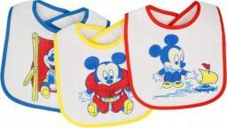 Śliniak Mickey Mouse 3 szt.