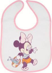 Śliniak Mickey Mouse różowy 2 szt.