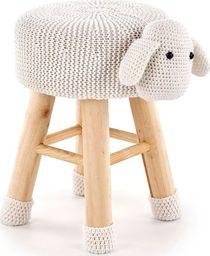 Elior Okrągła pufa dziecięca Stili 3X - owieczka