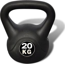 Kettlebell vidaXL bitumiczny 20 kg