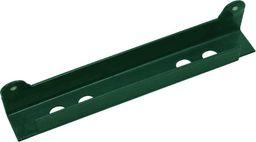 vidaXL Ogranicznik kątowy do bramy, zielony, 310 x 40 x 37 mm