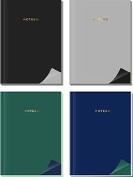 Interdruk Notatnik A5/80K z kolorowymi bokami mix