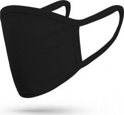 FDTwelve Maseczka ochronna 2-warstwowa wielokrotnego użytku Black
