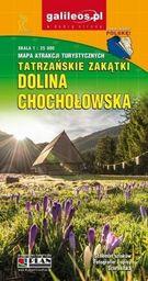 Mapa atrakcji tur. - Dolina Chochołowska 1:25 000
