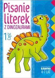 Literka Pisanie literek z dinozaurami cz.1