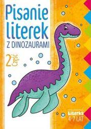 Literka Pisanie literek z dinozaurami cz.2