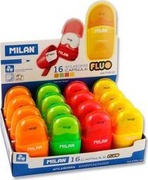 Milan Temperówko-Gumka Compact Fluo (16szt) MILAN