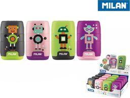 Milan Temperówko-Gumka Happy Bots (16szt) MILAN
