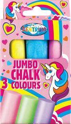 Panta Plast Kreda kolorowa Jumbo Unicorn 3szt 80390