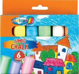 Panta Plast Kreda kolorowa Jumbo Magic willage 6szt 80391