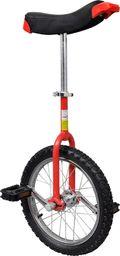 vidaXL Czerwony monocykl, 16 cali