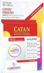 Rebel Gamegenic: Matte Catan-Sized Sleeves 56x82mm