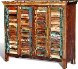 vidaXL Kredens 4-drzwiowy z drewna odzyskanego