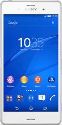 Smartfon Sony 16 GB Dual SIM Biały  (Xperia Z3 White)