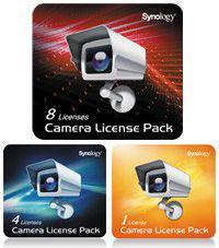 Licencja do kamer sieciowych Synology License Pack 8