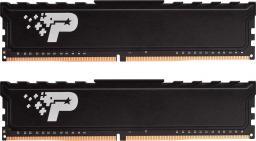Pamięć Patriot Signature Premium, DDR4, 8 GB,2400MHz, CL17 (PSP48G2400KH1)