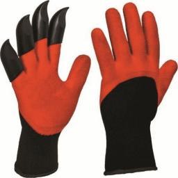 Ramp rękawice ogrodowe z pazurami (RRP)