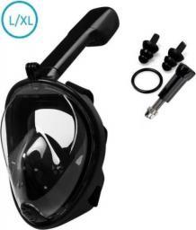 Globix Maska do nurkowania czarna L/XL (GG0703)
