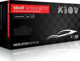 Mercator Medical rękawice ochronne ideall nitrile moto strong rozm L 100szt. RD30187004