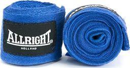 Allright Bandaż bokserski 3 m Niebieski uniwersalny