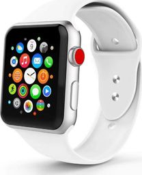 Tech-Protect TECH-PROTECT SMOOTHBAND APPLE WATCH 1/2/3/4/5 (38/40MM) WHITE
