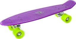 Deskorolka Allright Deskorolka fiszka Allright Speed Board fioletowa zielone kółka uniwersalny