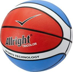 Allright Piłka koszykowa Allright Tricolor 7 uniwersalny